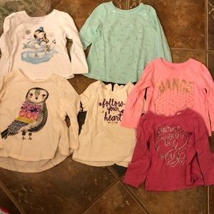 Other - Lot of 6 long sleeved shirts 24 month/2t size